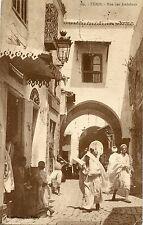 CARTE POSTALE / POSTCARD TUNISIE / TUNIS RUE DES ANDALOUS