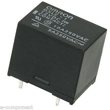G5LE-1 12Vdc Relay OMRON from 10 Ampere 12Vdc
