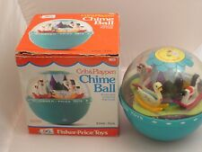 Vintage Fisher Price Chime Ball No, 165, 1973 / w box