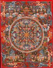 Poster-Budista Mandala (imagen Religión Buda Budismo Oriental Asia Art)