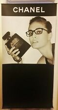 CHANEL Store display sign Banner Display factice handbag shoes bottle dummy