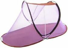 Single Bed Portable & Folding Mosquito Net-Indoor & Outdoor Use (Strip Design)