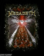 MEGADETH cd cvr ENDGAME Official 2009 TOUR SHIRT LAST SMALL New OOP end game