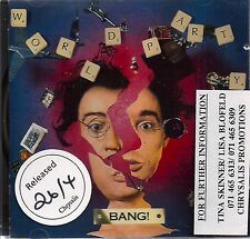 World Party BANG UK CD album Promo Stickered Release date 26/4 Chrysalis