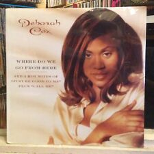"[SOUL/FUNK]~SEALED 12""~DEBORAH COX~Where Do We Go From Here~Just Be Good~Call Me"
