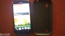 HTC Desire X T328e Android Wifi 4'' Touchscreen 5Mp Camera black smartphone.