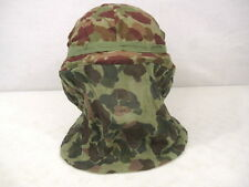 WWII Era USMC M1944 Camouflage Mosquito Helmet Net or Sniper Vail for M1 Helmet