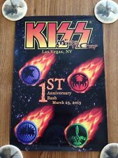 KISS Monster Golf 1st Anniv Bash March 23, 2013 Las Vegas Poster 13 x 19 in