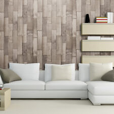 EXCLUSIVE ARTHOUSE DRIFTWOOD PANEL PATTERN WOOD FAUX EFFECT WALLPAPER ROLL NATUR