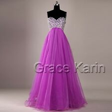 2016 Long Maxi Beaded Wedding Bridesmaid Formal Evening Gowns Party Prom Dresses
