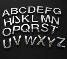 10 Chrombuchstaben freie Auswahl aus A-Z B-WARE! B-WARE! Chrombuchstabe