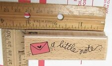 A LITTLE NOTE BY STUDIO G RUBBER STAMP