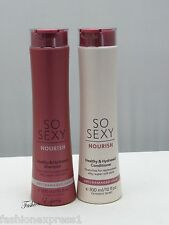 Victoria's Secret SO SEXY NOURISH SHAMPOO & CONDITIONER DRY/DAMAGED HAIR 10 OZ