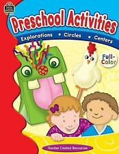 Preschool Activities by Edmunds, Tracy
