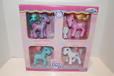 MIB My Little Pony RARE G3 Toys R Us 4 Pack Tropical Delight Bowtie