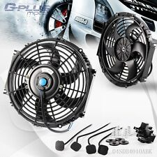 "10"" Universal  Slim Pull Push Racing Electric Radiator Engine Cooling Fan"