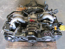 JDM 01-03 Subaru Legacy Outback Non-Turbo DOHC EJ254 2.5L Long-block Engine avcs