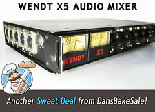 Wendt X5 5 Channel Portable Field Audio Mixer - Durable for Demanding Recording!