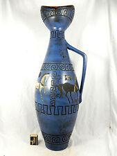 """Stunning 60´s Hans Welling Design Ceramano Keramik """" Pergamon """" vase  207 70 cm"""