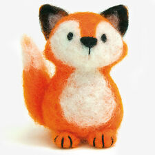 FOX  Felted Character Needle Felting Kit Dimensions