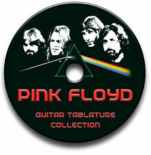 PINK FLOYD PROGRESSIVE ROCK GUITAR TABS TABLATURE SONG BOOK SOFTWARE CD
