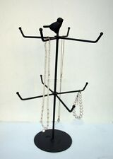 Jewellery Display Stand Song Bird Metal Necklace Bracelet Shabby Chic Girl New