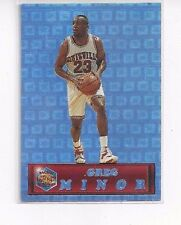 1994 PACIFIC PRISMS CROWN COLLECTION BASKETBALL GREG MINOR #36 LOUISVILLE