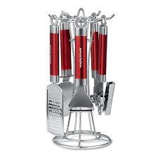 Morphy richrds 4 pièces ustensiles de cuisine cuisson Ustensile Outil Gadget Set-Rouge