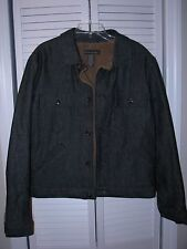 Banana Republic Dark Denim Jean Jacket Men's Size Medium Pre-Owned EUC!