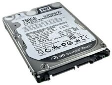 "Wd 750 Gb Sata 7200 Rpm Negro Western Digital 2.5 ""Notebook Laptop Disco Duro"