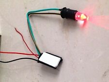 NEW DIY RED LED Cell Mobile Phone call in Indicator Motorcycle