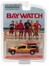1:64 GreenLight *HOLLYWOOD R16* BAYWATCH Beach Patrol 2016 Ford F150 Truck *NIP*