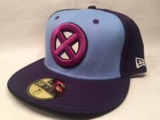 X-Men Basic Purple Blue New Era 59FIFTY Fitted Cap $37 - Size 7 1/2