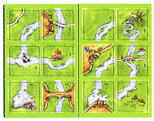 Carcassonne Mini Expansion The River II El Rio 2 De Rivier Jõgi Rar*New*OOP