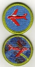 "Aviation Merit Badge, Type J, ""Scout Stuff"" Back  (2002-10), Mint!"