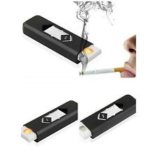 No Gas USB Electronic Rechargeable Battery Flameless Cigarette Lighter