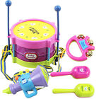5 PCS Baby Infant Toddler Developmental Toy Kids drum rattles Educational Toys