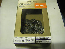 New original Stihl Oilomatic Duro chain 3/8 picco 16 inch 55 links 1.3 mm