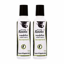 Greenish Roots Black Seed Hair Oil Twin Pack (100ml x 2)