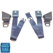 1967-72 GM A Body Standard Retractable Navy Blue Seat Belt - Set