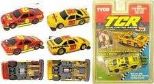 3 1992 TYCO Slotless TCR Ford & Pontiac Stock & Mustang JAM HO Slot less Car Lot