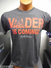 Mens Star Wars Brand Vader is Coming-Look Busy Shirt NWT XL