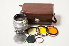 EARLY Helios-40 1.5/85 85mm f/1.5 M39 to M42 SLR lens. 1963 year. EXCELLENT+