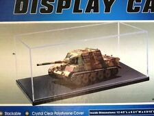 DISPLAY CASE 1:35 1:48 MILITARY MODEL TM09814 NEW STACK 325 x 165 x 125H