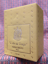 Vintage 1980s L Air du Temps 1/4 oz 7.5 ml Pure Parfum Nina Ricci OLD FORMULA