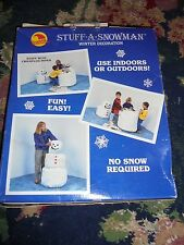 Sunhill stuff a snowman winter decoration Christmas crafting holiday NWD prop