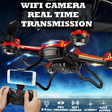 JJRC H12W 2.4G 6-Axis Gyro 2MP FPV WiFi Cam Quadcopter RTF RC Drone Helicopter