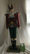 NEW! GIANT NUTCRACKER CHRISTMAS FIGURE - XLARGE DECORATION OVER 3 FT TALL 42""
