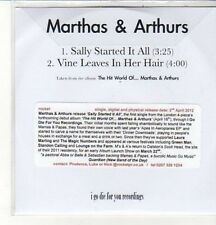(CZ822) Marthas & Arthurs, Sally Started It All / Vine Leaves In Her Hair- DJ CD