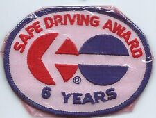 North American Van Lines 6 Year truck driver patch 3 X 4